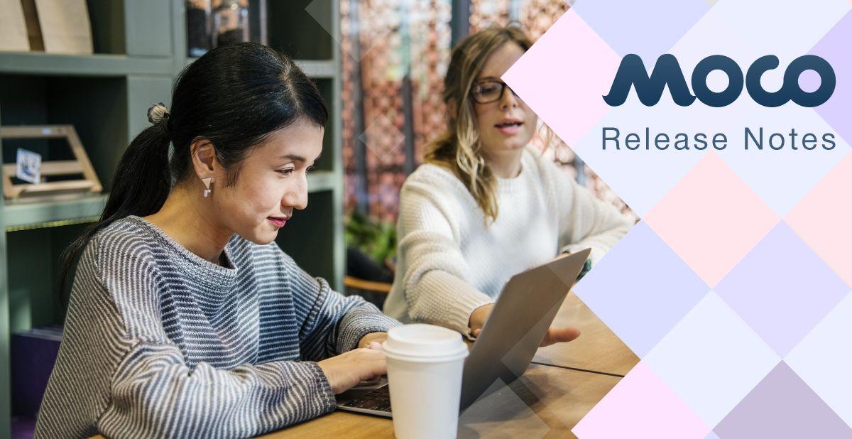 Moco v.19.6 — Release Notes